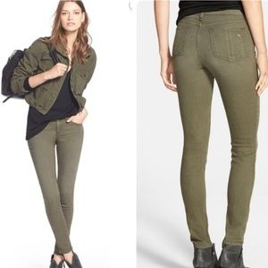 Rag & Bone skinny fatigue jeans